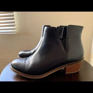 COLE HAAN Leather Ankle Boots